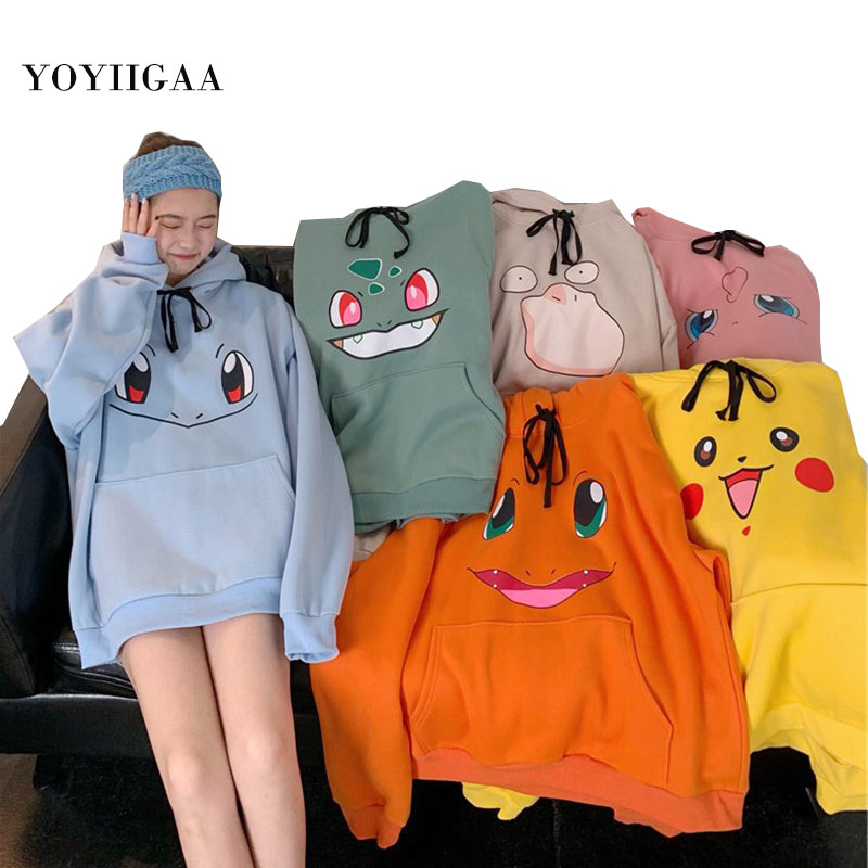 Permalink to Sweatshirt Women Girls Hoodies Harajuku Women's Hooded Casual Pullover Tops Plus Size Female Hoodie Pullovers for Woman Clothes