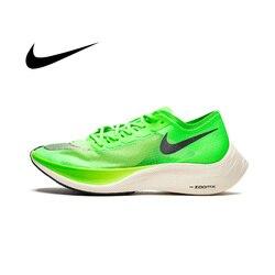 Мужская обувь Nike ZoomX Vaporfly Next %, амортизирующая обувь для бега из дышащего сетчатого материала