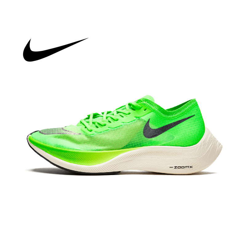 Nike ZoomX Vaporfly Next% Men Shoes Foam Cushioning Running Shoes Marathon Breathable Mesh Material image