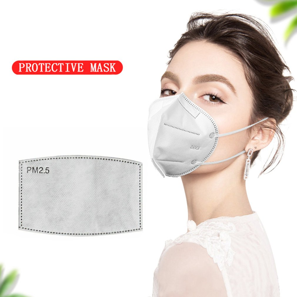 6 Layers Protective Mask For Adult Mask Mask Pads Activated Carbon Mask Filter  Man   And Woman  Practical