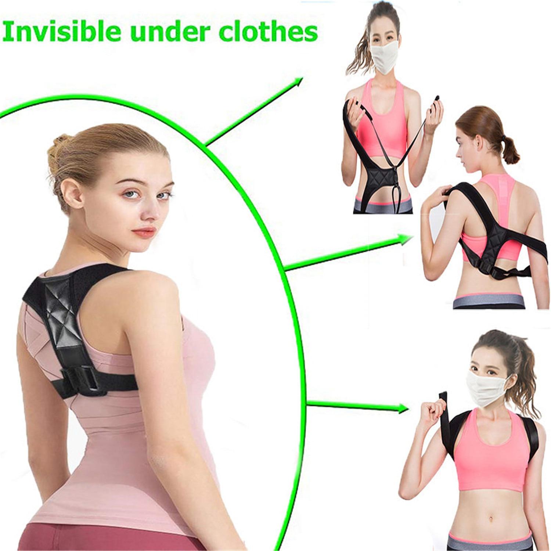 Belt Adjustable Back Posture Corrector Clavicle Spine Back Shoulder Lumbar Posture Correction 4