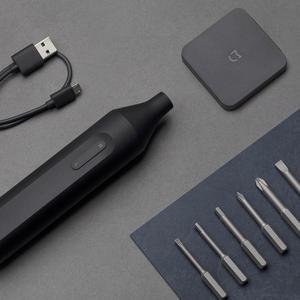 Image 3 - Xiaomi Mijia Electric/Manual Screwdriver 1500mah Rechargeable Mini Portable Automatic Integrated Screw Driver W/6 S2 Screw Bits
