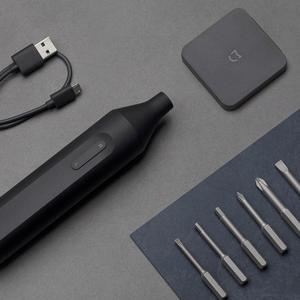Image 3 - Xiaomi Mijia tournevis électrique/manuel 1500mah Mini tournevis intégré automatique Portable Rechargeable avec 6 embouts de vis S2