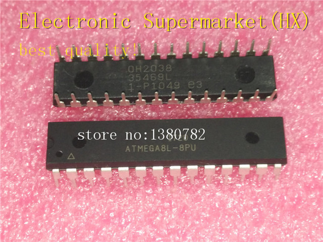 Free Shipping 50pcs/lots ATMEGA8L 8PU  ATMEGA8L  ATMEGA8  DIP 28 New original  IC In stock!