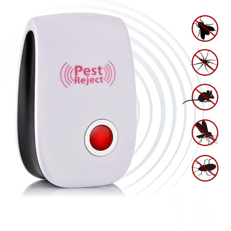 Pest Control Ultrasonic Pest Repeller Mosquito Killer Electronic Anti Rodent Insect Repellent Mole Mouse Cockroach Mice Dropship