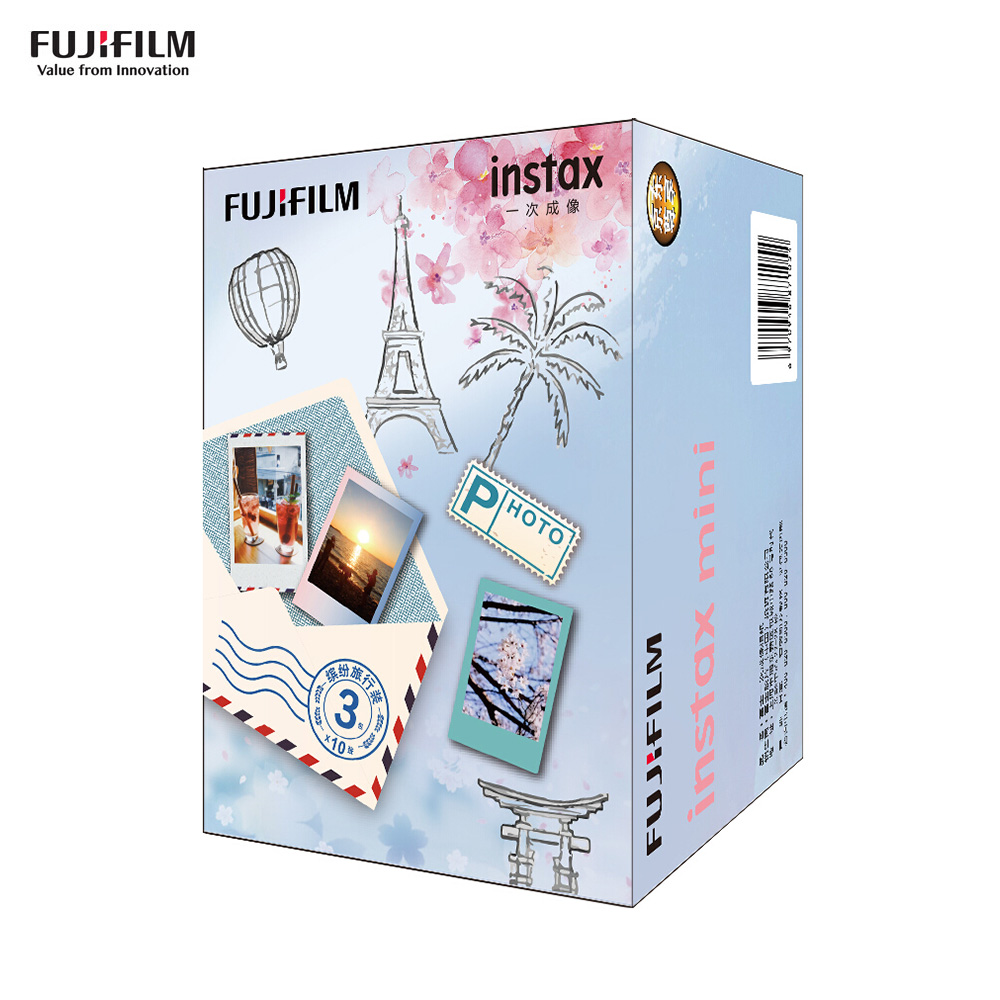Fujifilm Instax Camera Instant Film Photo Paper for Fujifilm Instax Mini 9/8/7s/25/50s/70/90 for SP-1/SP-2 Smartphone Printer image