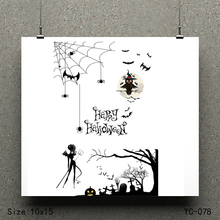 ZhuoAng Happy Halloween model Clear Stamps For DIY Scrapbooking/Card Making Decorative Silicon Stamp Crafts