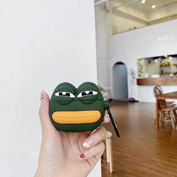 Pepe Frog Silicone Case for Airpods Pro 1