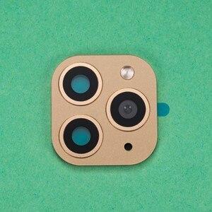 Image 4 - 50 個バックカメラレンズ保護フィルム用 X XS 最大ように見える iphone 11 プロフェイクカメラステッカー