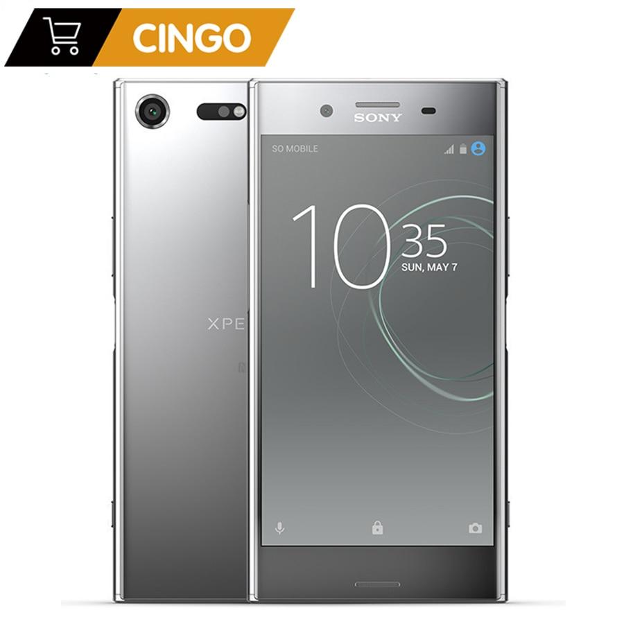 Sony Xperia XZ Premium G8142 4G RAM 64G ROM Dual Sim 19MP Octa Core NFC Android szybkie ładowanie 3.0 3230mAh 4G LTE telefon komórkowy