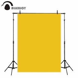Image 2 - Allenjoy background yellow felt texture solid color fabric portrait photo studio backdrop photophone photozone photography
