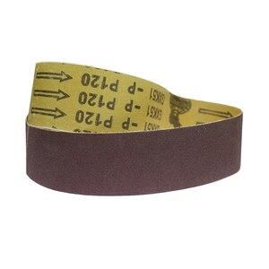 Image 3 - 10 pezzi 915*50 millimetri Abrasiva Nastri Abrasivi per Legno Metallo Morbido Per La Frantumazione di Lucidatura