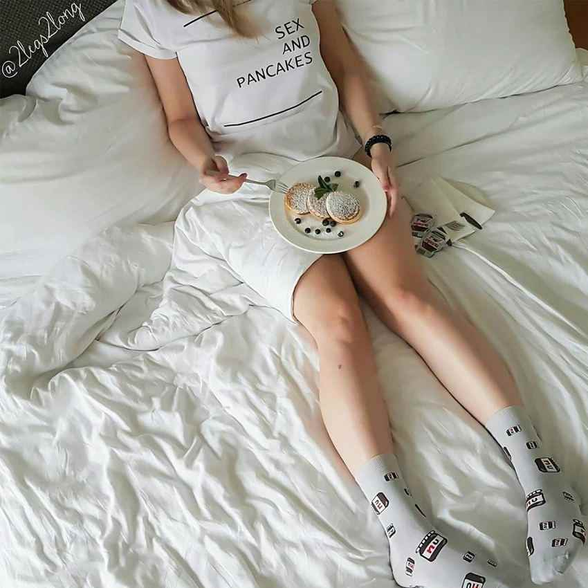 Sex And Pancakes T Shirt Funny 100 Cotton Quote Hipster Young Casual Unisex Women Tumblr Grunge Graphic Fashion Tshirt Top Tee Shirts Aliexpress