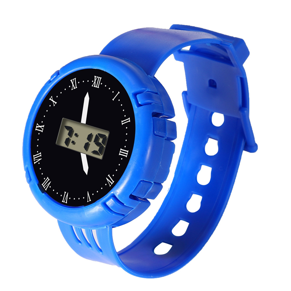 Fashion Kids Casual Electronic Watch Children Comfortable Silicone Sports Watches Fluorescent Watches LXH