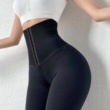 Mallas deportivas Push Up para mujer, Leggings de cintura alta, Sexy, ajustados, color negro