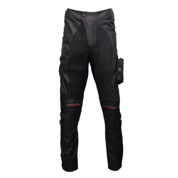 Men Motorcycle Pants Motorbike Riding Trousers Summer Breathable Rally Motocross Race Rider Pants 4pcs Protective Gears HP-02
