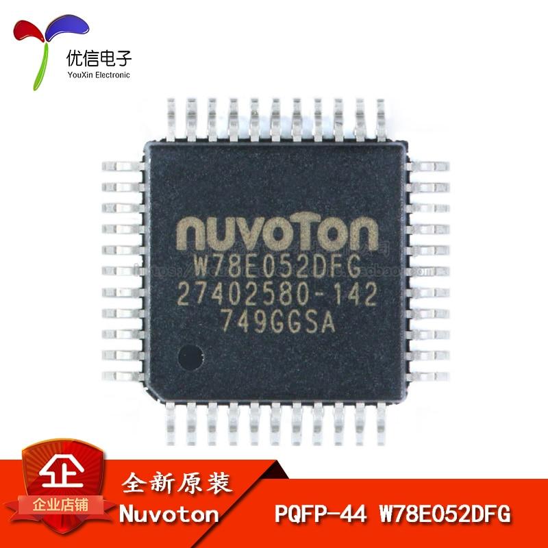 Подлинный оригинальный патч W78E052DFG PQFP-44 6T / 12T 8051 один чип