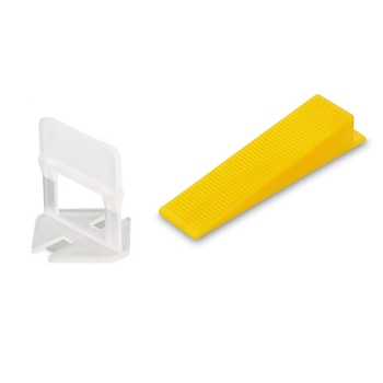 400Pcs Tile Leveling System Tiles Leveler Spacers Tile and Stone Installation Leveling Spacer Clips Reusable Wedges 800 tile spacer leveling system 500 clips 300 wedges spacers flooring tool set