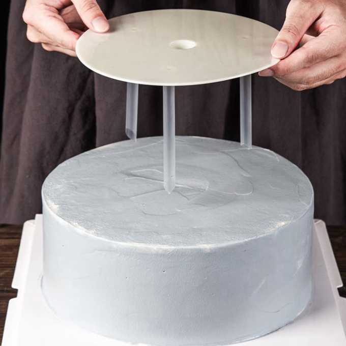 Decor Kitchen Supplies Cake Support Frame Piling Bracket Cake Stands Spacer