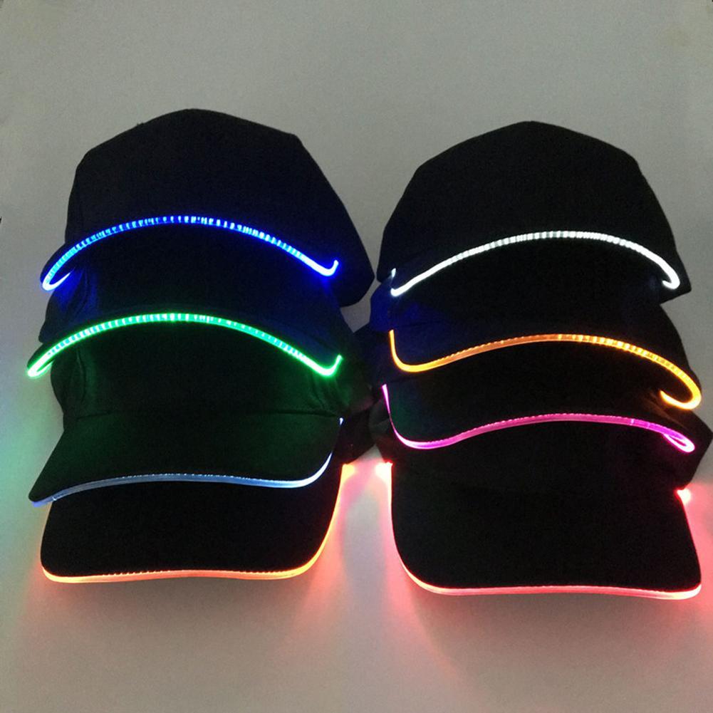2020 New LED Light Pokemon Go Cap Hat Team Valor Team Instinct Pokemon Baseball Cap for Women Mens Fitted Hats Glow In The Dark