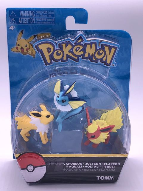 Takara Tomy Pokemon Eevee Family Figure Toys Model Collection Eevee Action Toys for Children Birthday GiftsAction & Toy Figures