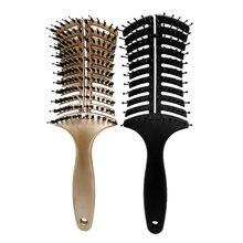 Pop Brosse Brosse Démêlant Brosse À Cheveux Peigne pour Livraison Directe Démêlant Brosse À Cheveux Massage Peigne pour Salon De Coiffure