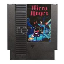 Micro Moges 72 Pin Spiel Patrone für 8 Bit Video Spiel Konsole Region Freies Englisch Sprache