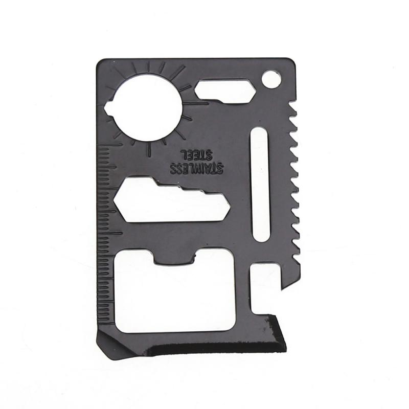 Multi-function Mini Portable Emergency Survival Card Outdoor Camping Toolcard Survival Hunting Military Card