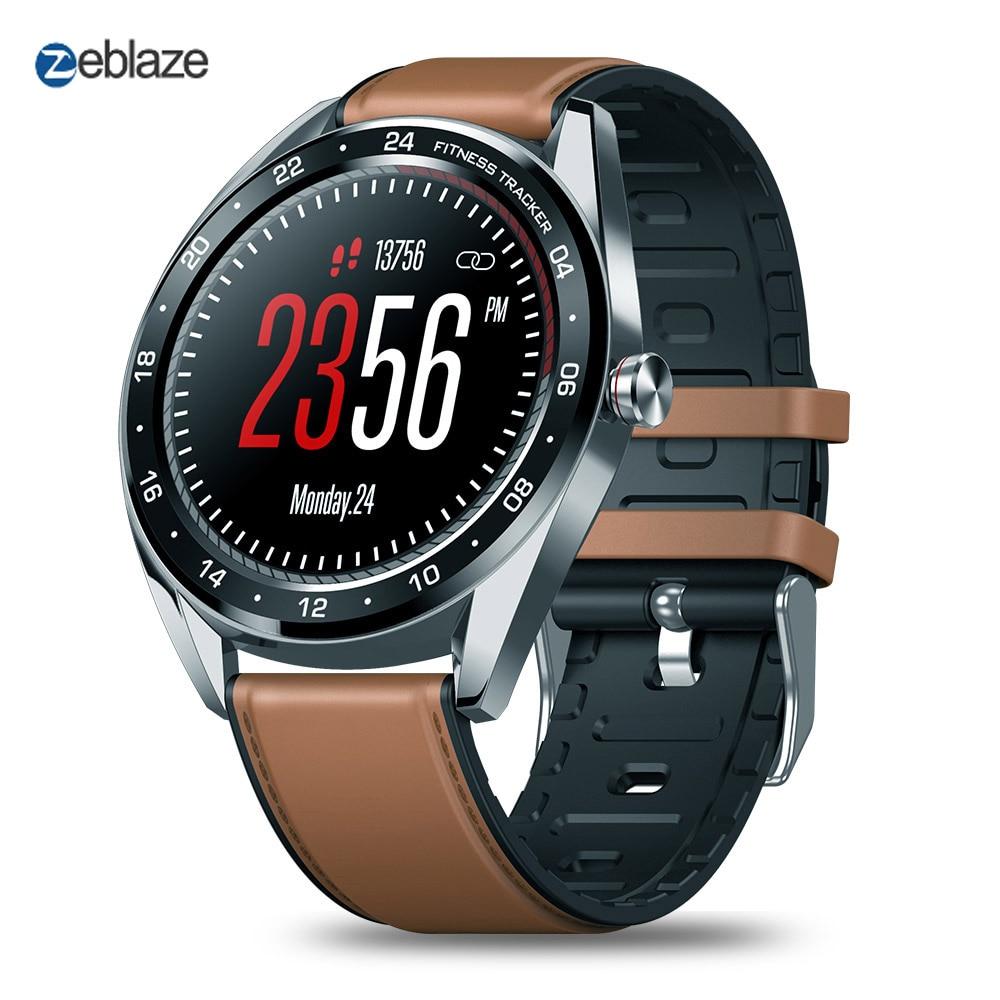 Zeblaze NEO série Smartwatch écran tactile IP67 étanche montre intelligente fréquence cardiaque pression artérielle femmes compter à bas