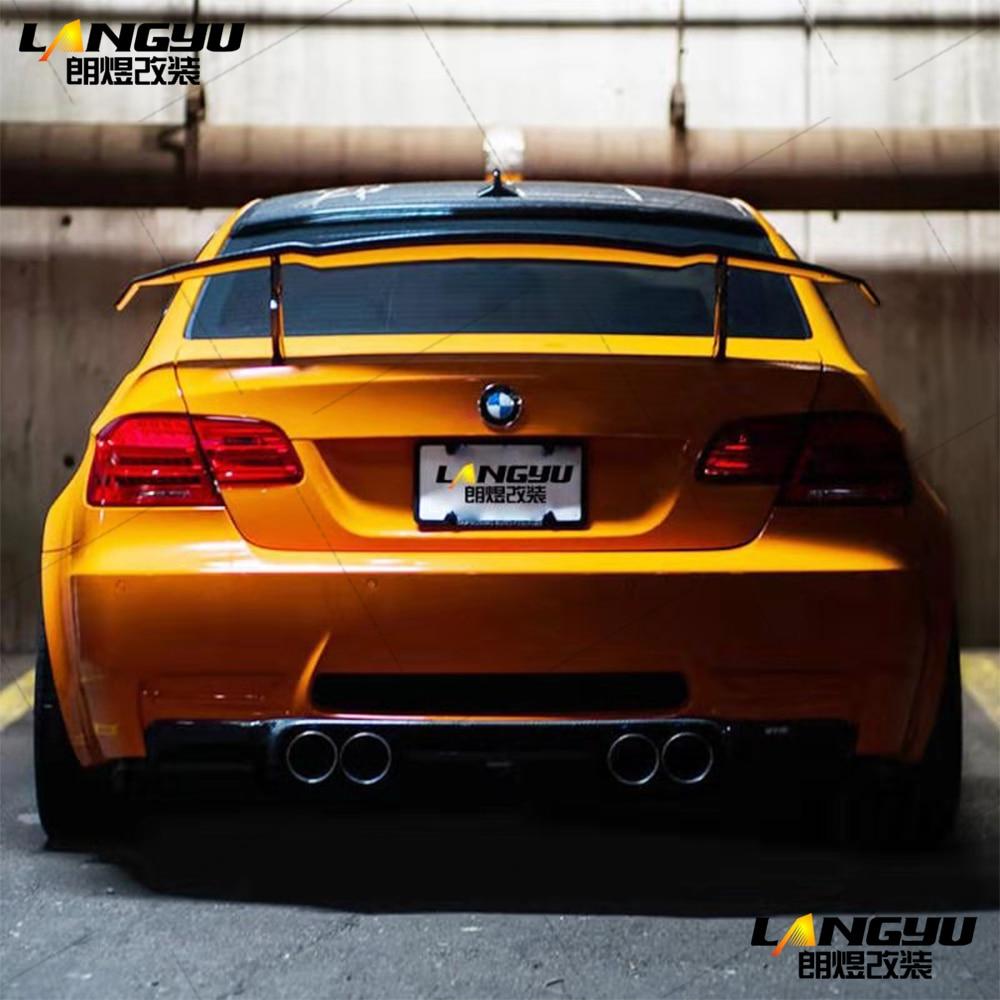 Для BMW 3 серии E92 E93 M3 2006 2007 2008 2009 2010 2011 2012 2013 Vorsteiner Стиль углеродного волокна спойлер крыло США Продавец