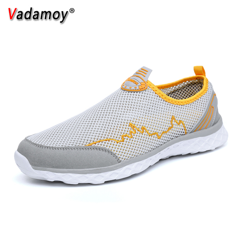 Summer Men Sandals Outdoor Male Slippers Couples Mesh Fashion Beach Quick Dry Wading Upstream Fishing Net Water Casual Men Shoes Karachi