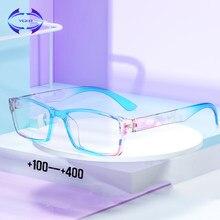 VCKA Пижама для женщин, мужчин, круглые линзы дальнозоркости Пресбиопии очки для чтения на пружинных шарнирах очки для чтения + 1,0 1,25 1,5 до 4,0