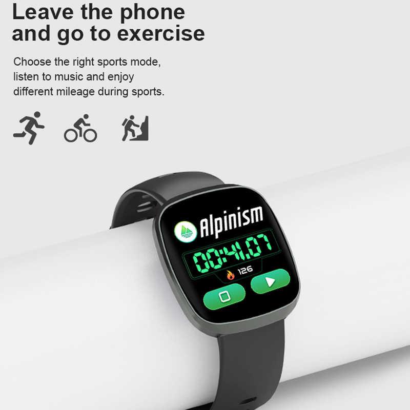 GT103 pleine touche montre intelligente Ultra mince podomètre mince pression artérielle moniteur de fréquence cardiaque Smartwatch pour garçons filles hommes femmes