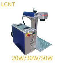 Graveur de métaux, Machine de marquage Laser à Fiber 20W/30W pour l'or, l'argent, le laiton, le cuir