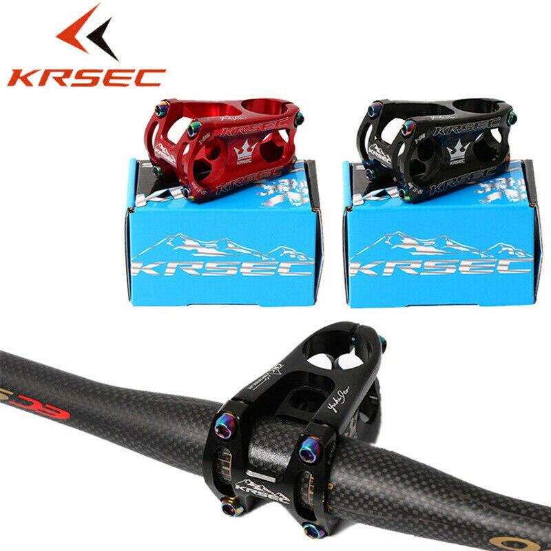 KRSEC 17° Bicycle stems 31.8//35*60mm MTB XC AM DH Road Bike handlebar bar Stem