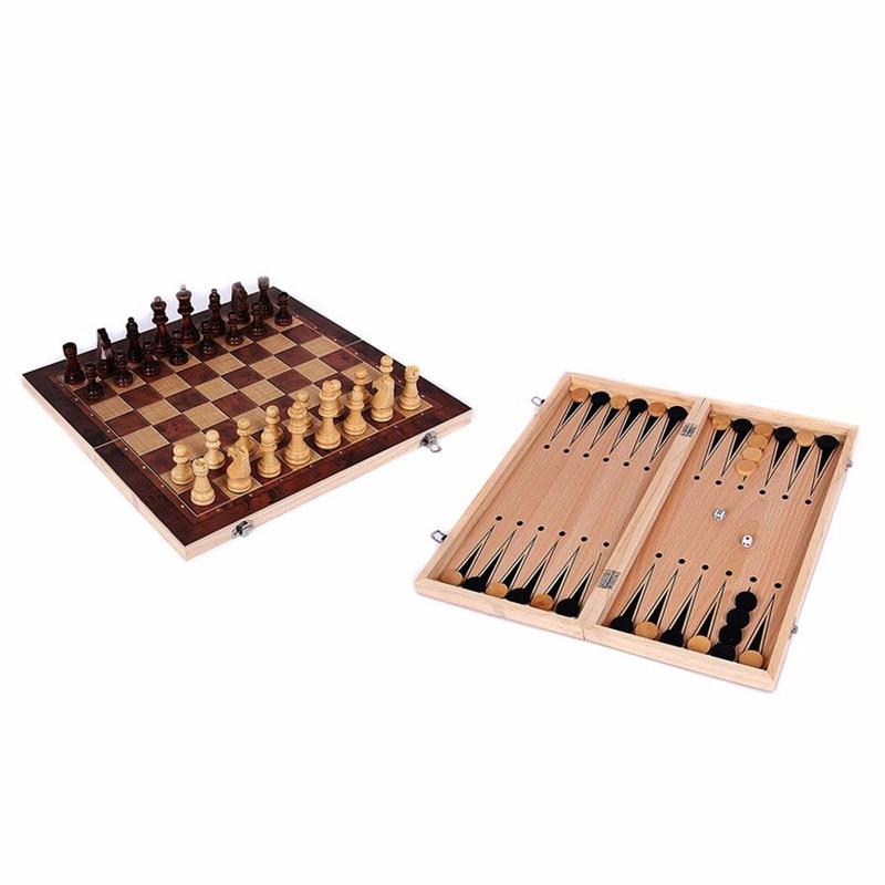 3 em 1 jogo de xadrez internacional