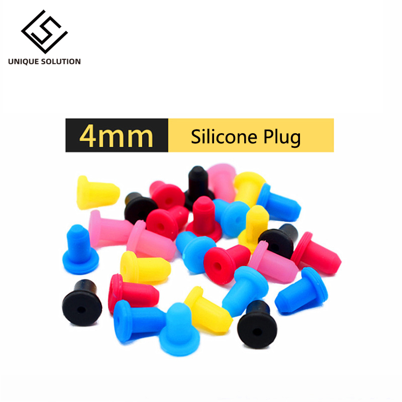 4mm High Elastic Refitting Tool CISS Ink Cartridge Fixed Printer Accessories Rubber Seal Silicone Plug