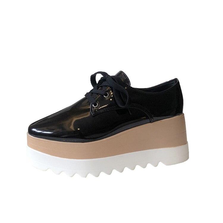 Cootelili sapatos femininos casuais, calçado feminino plataforma