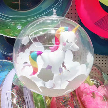 Inflatable Unicorn Swimming Ring Flamingo Fruit Inflatable Circle Pool Float Toys Beach Party Games Adult Children Water Toys giant inflatable flamingo pool float inflatable unicorn adult swimming ring inflatable swan donut water pool toys dhl free