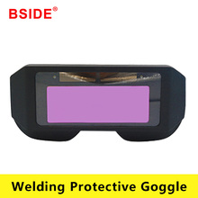 Solar Automatic Dimming Welding Protective Mask Welder Glasses Welding Cap Welding Goggle