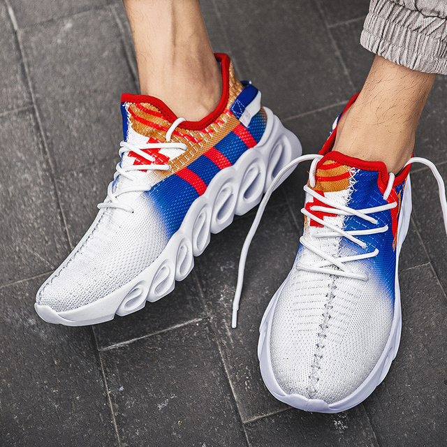 Mens Casual Shoes Male Sport Sneakers For Men Breathable Trainers Man Krasovki Running Shoes Tenis Masculino Fashion Shoes Uncategorized Fashion & Designs Men's Fashion