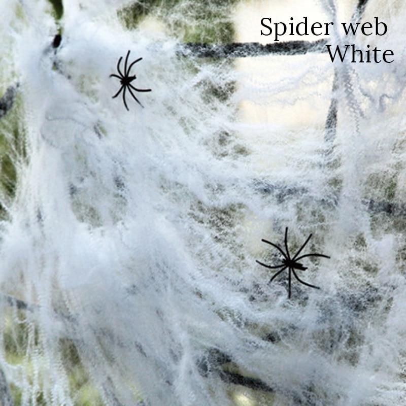 Halloween decoration Spider Web Horror Halloween home garden decor Haunted House fake spider web trick props Halloween supplies