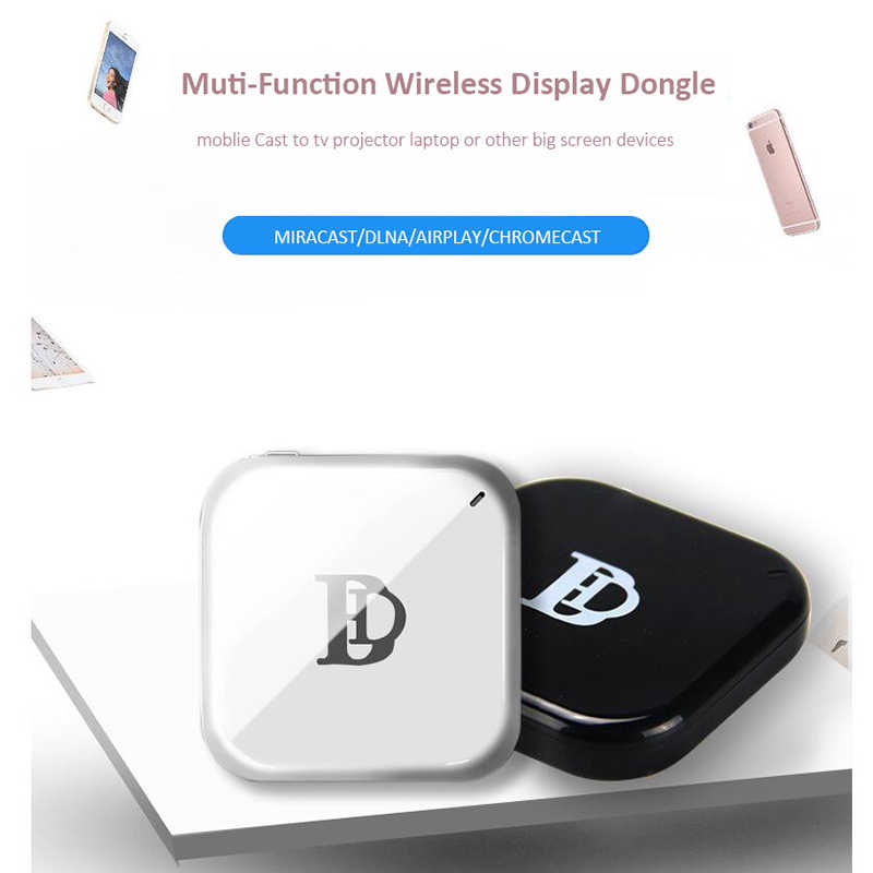 1080 P TV Stick X7 Android WIFI HDMI Adaptor untuk Google Chromecast Crome untuk untuk Mirascreen Cast To TV Netflix youTube Nirkabel