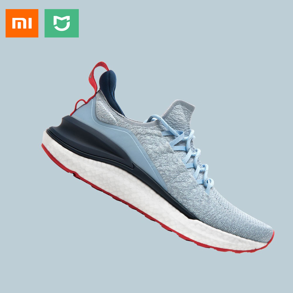 2020 New Xiaomi Mi Mijia Sports <font><b>Shoe</b></font> Sneaker 4 Outdoor Men Running Walking Lightweight Comfortable Breathable <font><b>4D</b></font> Fly Woven Upper image