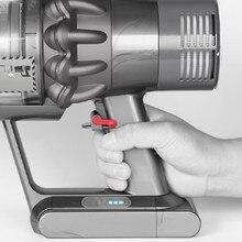 Trigger Lock Power Button Accessories For Dyson V6 V7 V8 V11 V10 Robot Sweeping Vacuum Cleaner Parts Power Button Lock  Holder