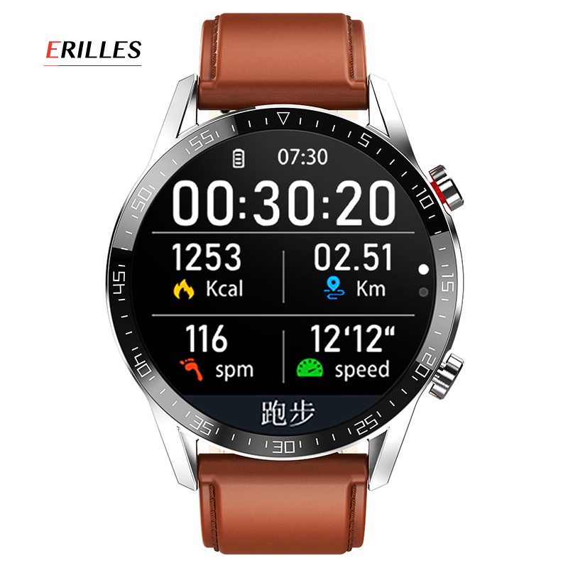 Errilles Smart watch 2020 new IP68 waterproof exercise fitness monitoring smart watch for Android IOS Xiaomi Huawei iPhone