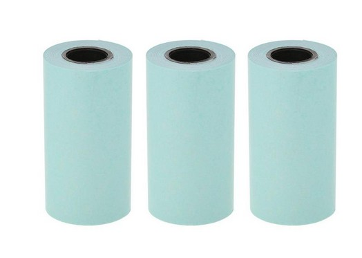 3 Rolls Printing Sticker Paper Thermal Adhesive Photo Paper For Mini Pocket Photo Printer Paperang P1 P2 Bill Receipt Papers