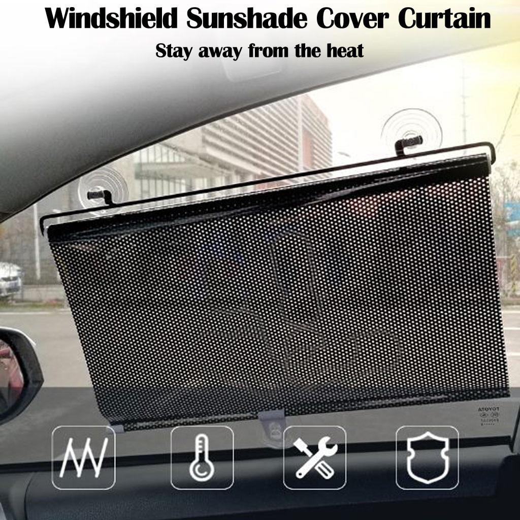 Kongqiabona-UK Sombrilla de Parabrisas de Coche Cubierta Plegable de Ocio Parasol Delantero y Trasero Parasol Reflectante Parasol Parasol de Coche