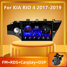 PEERCE For Kia RIO 4 2016 - 2019 Android 10.0 Car Radio Multimedia Video Player Navigation GPS DSP Android No 2din 2 din dvd