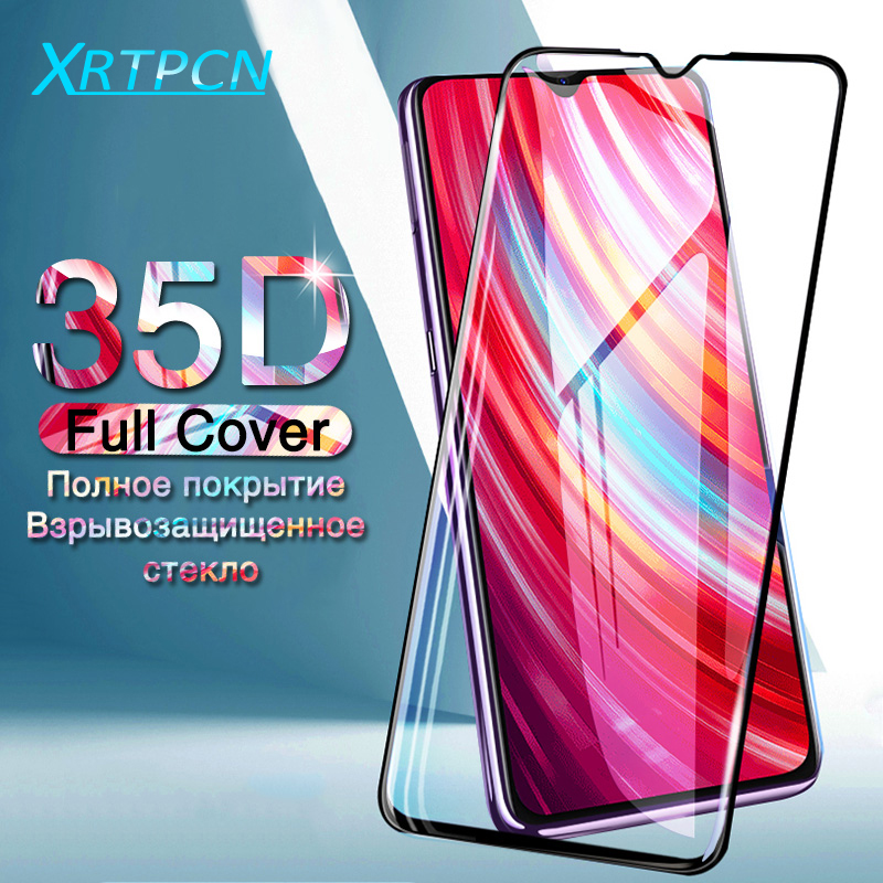 Full Cover Protective Glass For Xiaomi Redmi Note 8 7 6 Pro S2 Tempered Screen Protector Glass On Redmi 7 7A 6A 6 K20 Pro Film